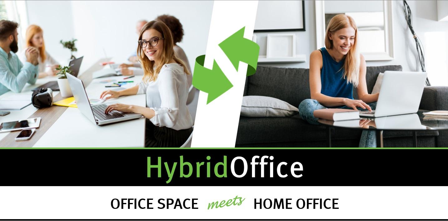 Fleksibilno uredsko rješenje rada iz ureda i od doma
