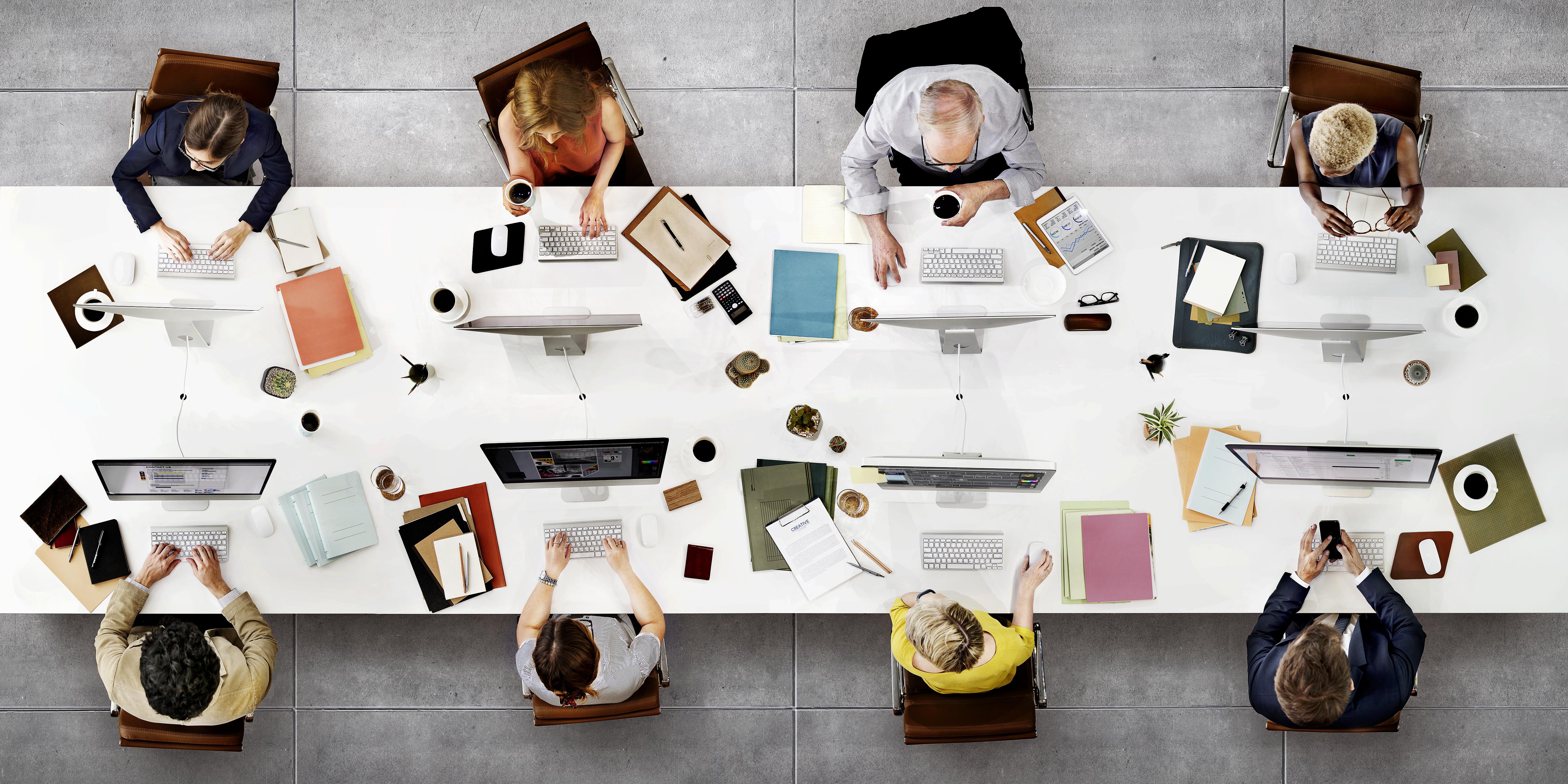 Fly Desk - najam radnog mjesta u većem uredu