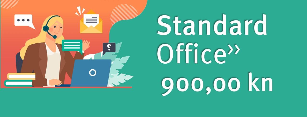 Virtualni ured Standard 900 kn mjesečno