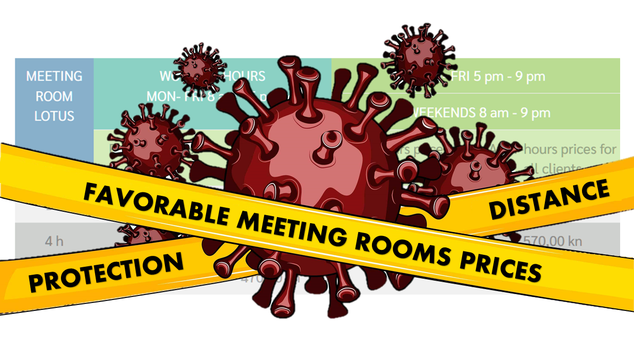 Meeting Room Lotous - covid reduced prices
